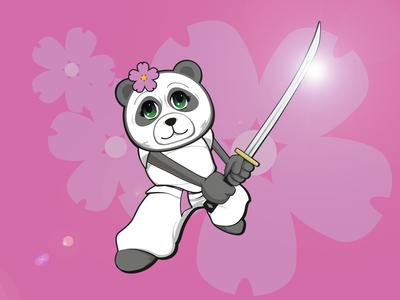 Pink Panda - Character Design