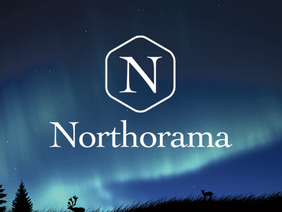 Northorama Branding branding logo