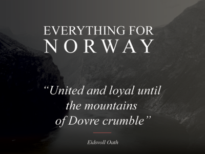 Everything for Norway norway branding