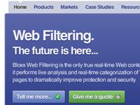 Bloxx homepage refresh