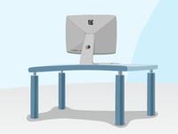 Mac On a Desk