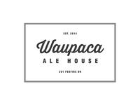 Waupaca Ale House Logo