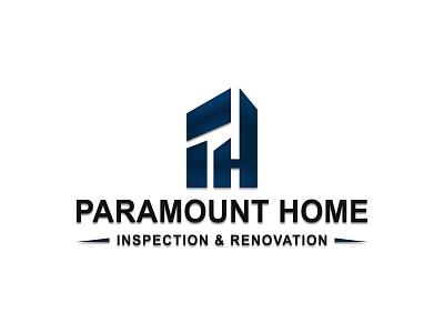 paramount home logo 2 graphic design logo design