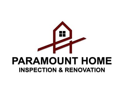 paramount home graphic design logo design
