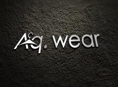 aq. wear graphicdesign logo design