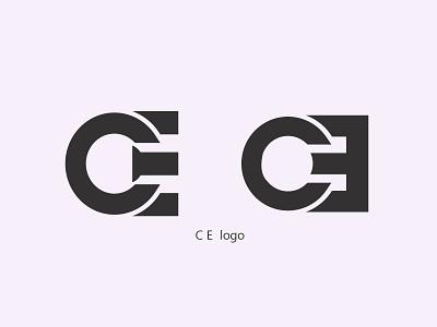 CE logo graphic design logo design