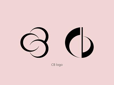 cb logo graphic design logo design