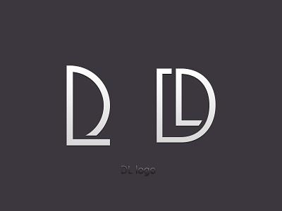 DL logo graphic design logo design
