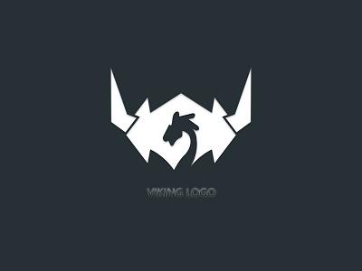 viking logo graphic design logo design