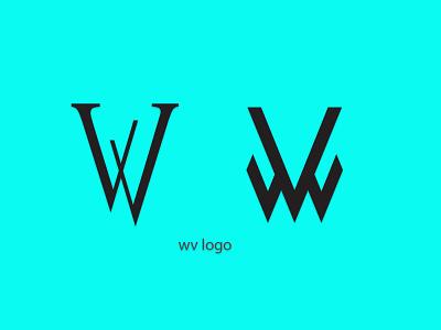wv logo graphic design logo design