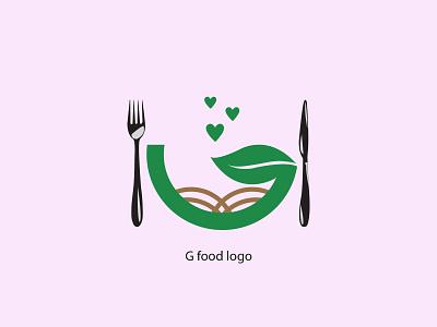 G food logo graphic design logo design