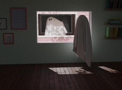 This Too Shall Pass alone fan art movie room house ghost blender 3d blender illustraion 3d illustration 3d art 3d