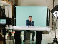 Ueno filming behind the scenes 3