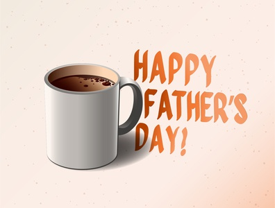 Father's Day fathers day branding coffee
