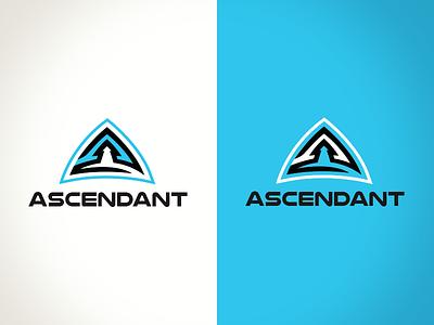 Ascendant design a arrow up logo ascendant ascent ascend