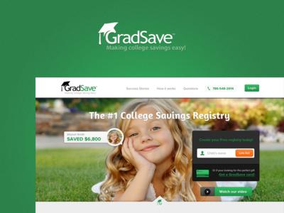 Gradsave redesign