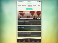 Motivation and relaxation app