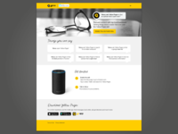 Amazon Alexa landing page