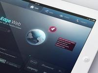 Trinkaus.cc v4 - iPad + FWA Public Shortlist
