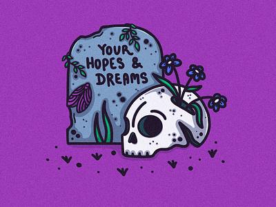 Your Hopes & Dreams prints digital illustration digitalart graphic illustrator design procreate illustration