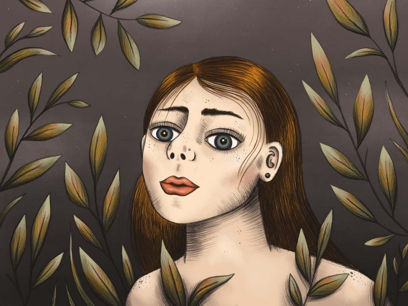 Girl Illustration illustration procreate