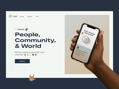 The All Hands Collection - Homepage landing allhands cis sundaycrew rebound landingpage uiux hands emoji mockups playoff community people world app nappy metalab homepage product page productdesign