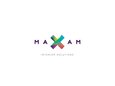 Maxam Logo clean mnml minimal logotype typography symbol simple type logo