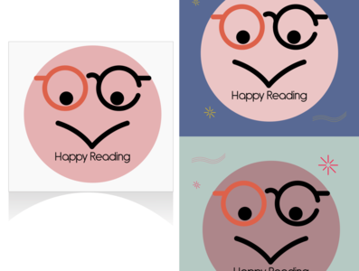 Happy Reading Vector Art