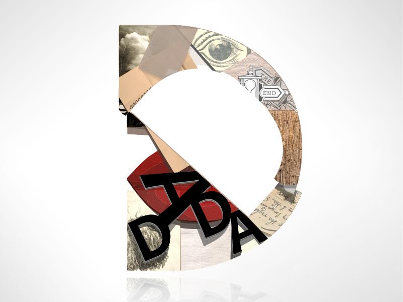D For Dada By Tanya Yeremeyeva On Dribbble