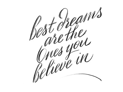 best dreams ipad pro design motivation dreams illustration procreate pencil sketch handlettering lettering handwriting