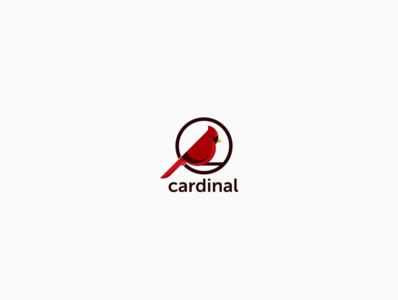 Simple Logo Cardinal Bird