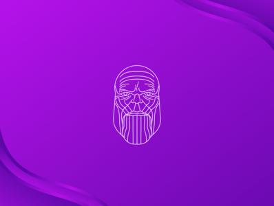 Thanos Line art