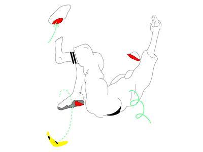 🍌🥾 iu banana draw illustrazione minimalart picoftheday dribbleart digitalart art creative drawing graphicdesign digitalillustration photoshop adobeillustrator illustrator illustration