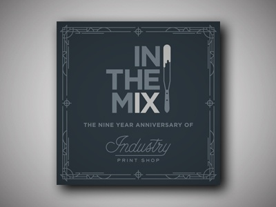 In The Mix Party Invitation