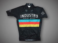 Industry Print Shop Cycling Jersey - Black