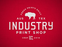 Industry Print Shop Shop Rag