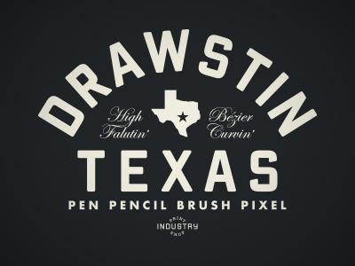 Drawstin Texas t-shirt design
