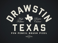 Drawstin Texas t-shirt design