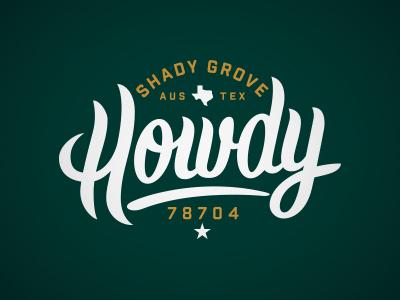 Shady Grove shirt design
