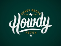 Shady Grove shirt design
