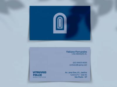 Vitruvius Pollio | 2019 | Brand Identity