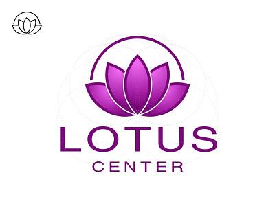 Lotus Center lotus center logo purple circles