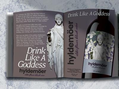 Hyldemoer Wine, redesigned concept, 2019