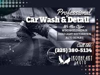 Custom Facebook Banner, PFP, & Flyer for Auto Repair Services Co