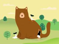 Big Bear Cat | Lost in Translation #15
