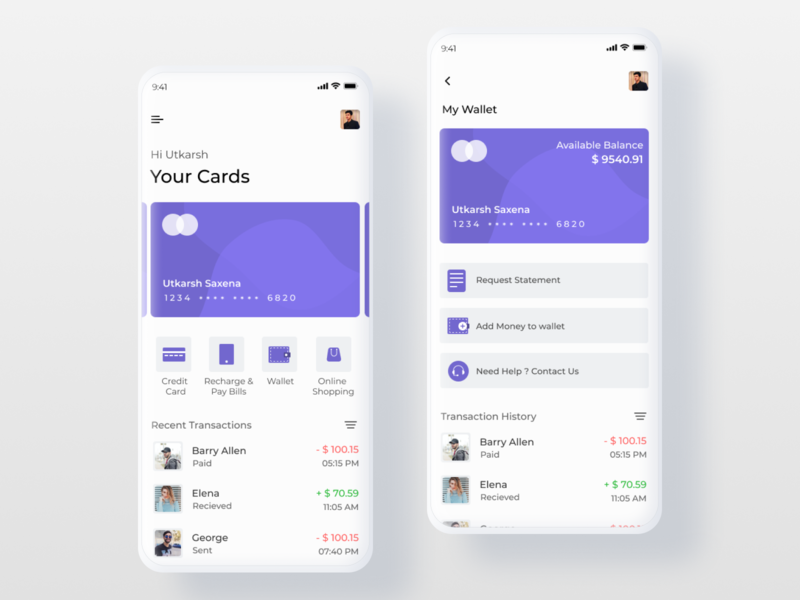 Payment App Ui icon ui design