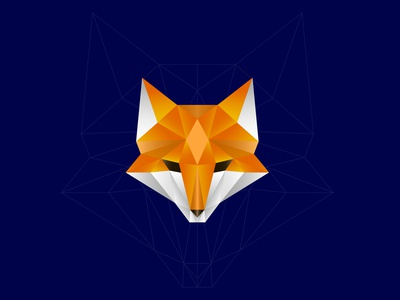 Fox Polygon branding icon illustration adobe illustrator logo graphic design design polygon art fox polygon fox illustration fox logo polygons polygon