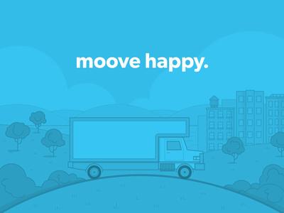 "Illustration | ""Mooving On Up"""