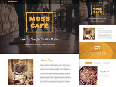 Web & Branding | Moss Café