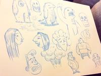 Sketches | Late Night Weekend Fun